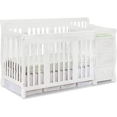 Storkcraft Portofino Convertible Crib and Changer, White - Walmart.com