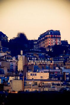 Paris. December 2009. View on Montmartre. By NikitaDB. *