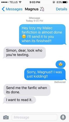 Malec Fanfic by Simon