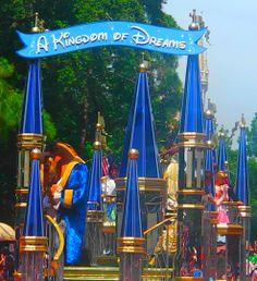 'Dreams Come True' Parade in Magic Kingdom, Disneyworld, Florida. #blueisntsobad