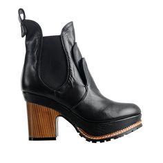 Minna Parikka tripple lingual black  #shoes #Finnishdesign