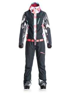 Pop Snow Impression - One-Piece Snow Suit. Winter SuitWinter WearFall WinterSuits  For WomenClothes For WomenSnowboard SuitSki ... b7d8fe1a1