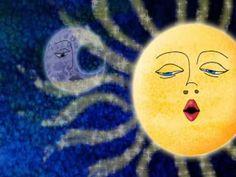 La Luna Perdió su Arete ( bellisima !!)