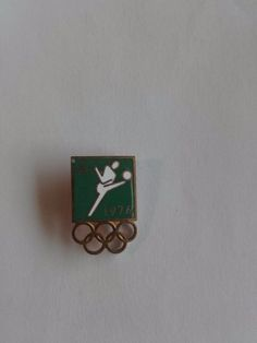 USSR/Soviet Russia Pin Badge Enamel.Olympics 1976 Montreal.Football.