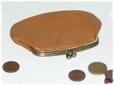 Vintage Portemonnaie braun von ZeitSprungVintage