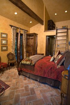 bedroom photos old worldtuscanmediterraneanspanish design pictures remodel - Old Style Bedroom Designs