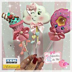 Esferos Foam Sheet Crafts, Foam Crafts, Diy And Crafts, Arts And Crafts, Clay Pen, Pencil Crafts, Flower Pens, Balloon Flowers, Foam Sheets