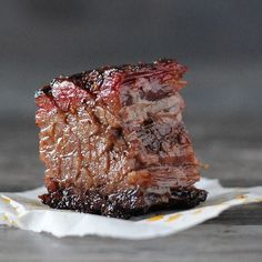 What happens when you give an American classic like brisket a kiss of the Irish? You get these little melt-in-your-mouth nuggets of beer-braised corned beef burnt ends. Smoked Corned Beef, Corned Beef Recipes, Traeger Recipes, Smoked Meat Recipes, Grilling Recipes, Smoked Brisket, Barbecue Recipes, Kitchen Recipes, Gourmet Recipes