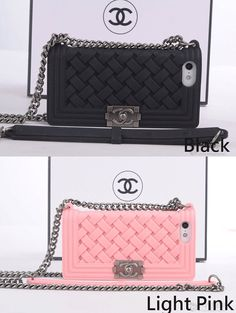 chanel boy case iphone 5/5s silicone case cover by msmelaniestore...x