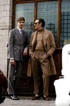 London Fashion Week Mens' Street Style: AW18   British GQ