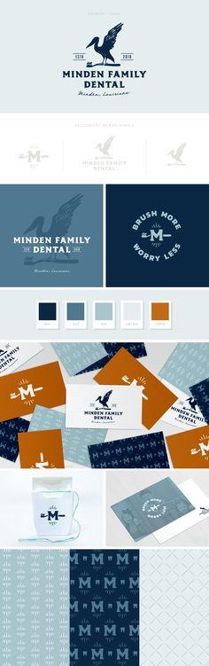 Minden Family Dental — Pace Creative Design Studio All Family Dental – Pace Creative Design Studio Graphic Design Brochure, Logo Design, Brand Identity Design, Graphic Design Posters, Corporate Design, Label Design, Branding Design, Identity Branding, Visual Identity