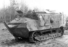 French Tanks of the Interwar Decades - Schneider CA Tank - From http://www.alternativefinland.com/french-tanks-interwar-decades/