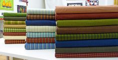 Buggy Barn Yarn Dyed Fabrics at StitchCraft