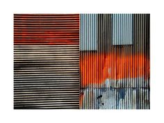 Corrugated Metal collage.every where at petta