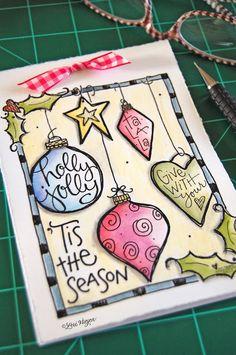 elvie studio: inspiration monday - Christmas notepad printable