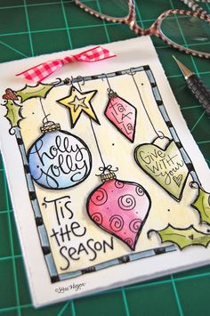 elvie studio: inspiration monday - Christmas notepad printable