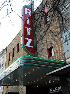 Alamo Ritz.  Catch current films, sing-alongs, and spoofs while having dinner and sipping cocktails.