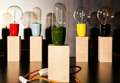 Lampe POCO - Vert/Orange  📷 @un.mec.en.stan.smith #lights #creation #atelierlb #wood #woodlife #woodworking #artisan #ebenisterie #handmade #kisskissbankbank #madeinparis #madeinfrance #paris #france #artisanat #woodlove #lampebois #lampecube #cube #erablesycomore #sycomore #porcelaine #design #creation #objet #deco #upcycle