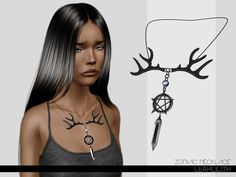 Zodiac Necklace  Found in TSR Category 'Sims 3 Necklaces'