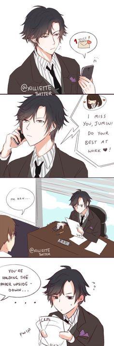 Jumin's so cute when he's flustered    Mystic Messenger ★