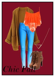 """""""Chic Fall outfit"""" by plainjanestyling on Polyvore featuring WearAll and Banana Republic"""