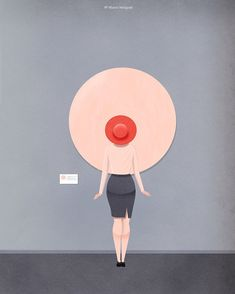 Abstract? #art #abstract #paint #canvas #hat #breast #nipple #boobs #pink #museum #skin #illustration #spectator #skirts #modern #concept #vision #young #drawings #illusion #digitalart #perspective #optical #watch #funny #dresses #magazine #weirdo @picame @art.discover @graphicroozane @graphicdesigncentral @simply.cool.design @nakid_magazine @keinmagazine @streetartglobe