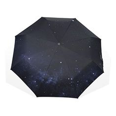 WORLDTEX Unique Design Fashion Starry Sky Pattern Windproof Travel Umbrella - Brought to you by Avarsha.com