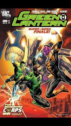 Green Lantern no. 25 (Jan 2008)