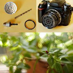Transform an Ordinary Sink Filter into a Soft Focus Lens Filter  Read more at http://www.petapixel.com/2012/11/27/turn-an-ordinary-sink-filter-into-a-soft-focus-lens-filter/#Ur3xSElHRlPRaPhB.99