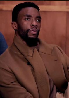 Stan Lee, Black Panther Chadwick Boseman, Long Coat Outfit, Chadwick Boseman Instagram, Man Thing Marvel, Black Actors, Vida Real, Black Panther Marvel, James Brown