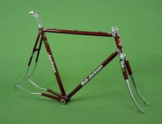 For the very finest in steel road bike frames, you can't beat Bob Jackson Bicycles! I rode a Jackson exactly like this one back in the early 90's, all Campy equipped of course  - Google Search Road Bike Frames, Barbican, Bike Art, Road Bikes, Hobbs, My Ride, Bicycles, Cycling, Jackson