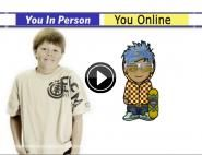 My Online Self   Common Sense Media // discuss with kids how they present themselves online