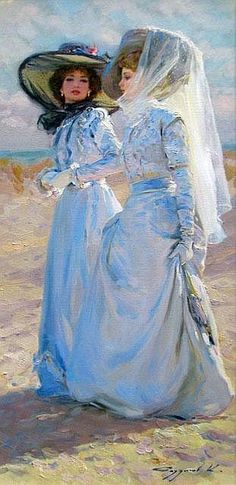 Razumov Konstantin I love the shades of blue in this painting!