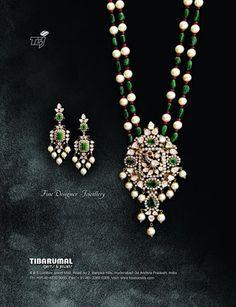 Diamonds and emeralds