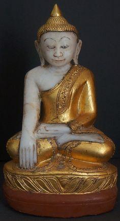 Burmese Alabaster Shan Buddha StatueBuddhaMore Pins Like This At FOSTERGINGER @ Pinterest