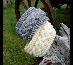 Hottest Free of Charge hand knitting socks Style Knitted Headband, Hand knit head band, Knitted Ear Warmer, Hand knit hair access… Crochet Turban, Knit Headband Pattern, Knitted Headband, Crochet Baby, Knitted Hats, Knit Crochet, Chunky Crochet, Knit Cowl, Crochet Granny