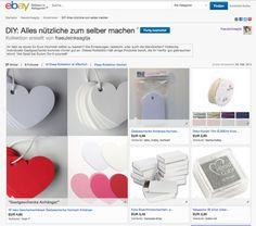 Meine ebay Kollektion für DIY Hochzeiten #ebayinspiriert #ebaykollektionen