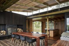 Castle Rock Beach House interior by Herbst Architects