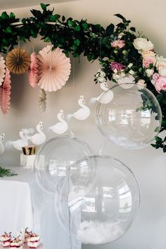 Trendy vintage party ideas for girls decoration first birthdays Ballerina Birthday Parties, Ballerina Party, Birthday Party Themes, Princess Birthday, Birthday Ideas, First Birthday Decorations, Birthday Cards, Lake Party, Party Garland