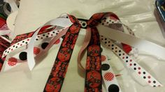 Check out this item in my Etsy shop https://www.etsy.com/listing/213596741/nc-state-ponytail-streamers