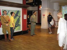 Why is Gandhi with Hitler and Saddam at Hong Kong Madame Tussauds? Beyond my comprehension, this.