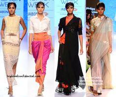 Your Fashion Fix, Guilt-Free! Indian Look, Resort 2015, Guilt Free, Western Outfits, Designer Wear, Wedding Season, Ethnic, High Heels, Sari