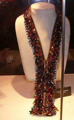 Zippered jewels