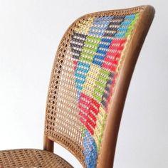 cross stich chair
