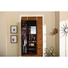 Check out ** Discovered it at Wayfair - Baxton Studio Reflections Over the Door Jewellery Armoire. B...