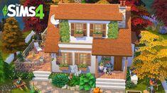 Sims 4 House Plans, Sims 4 House Building, Grandma's House, Cozy House, Sims House Design, Casas The Sims 4, Suburban House, Sims Ideas, Sims 4 Build
