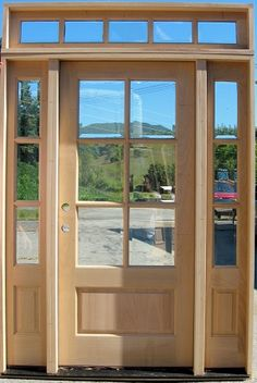 1000 images about transom windows on pinterest entry for Front door with 6 windows