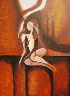 Artist: Fikari Evridiki title: Naked truth dim: 80x60 acrylic price: 750 euro Joomla Templates, Euro, Naked, Gallery, Artist, Painting, Artists, Painting Art, Paintings