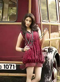 Tamanna Bhatia in elegant and beautiful vintage car model photography.