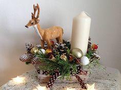 Vianočný svietnik jelencek / anad333 - SAShE.sk - Handmade Dekorácie